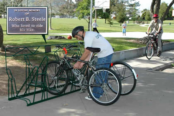 Racks with Plaques - Bike Rack
