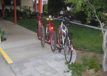 Angled Bike Racks - 3 Slot - 3 Bikes
