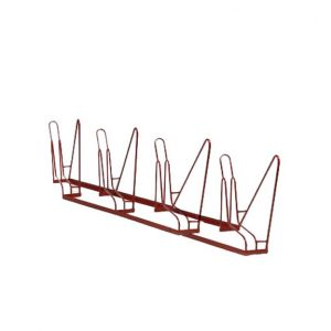 4-Bike Angled Rack