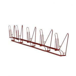 5-Bike Angled Rack