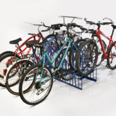 Double-Sided Bike Racks – 8 Slot – 8 Bikes