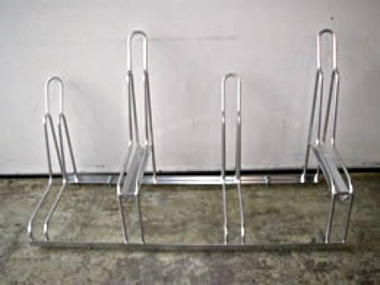 Home Bike Racks - 4 Slot - Indoor Empty