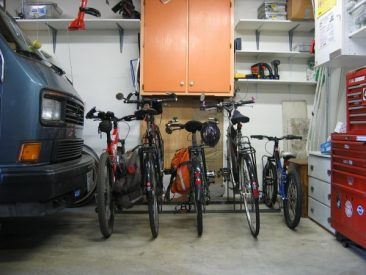 Home Bike Racks - 5 Slot - Indoor - 5 Bikes