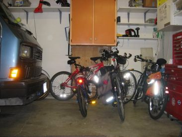 Home Bike Racks - Indoor Before